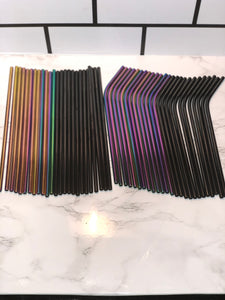 Re-usable straws