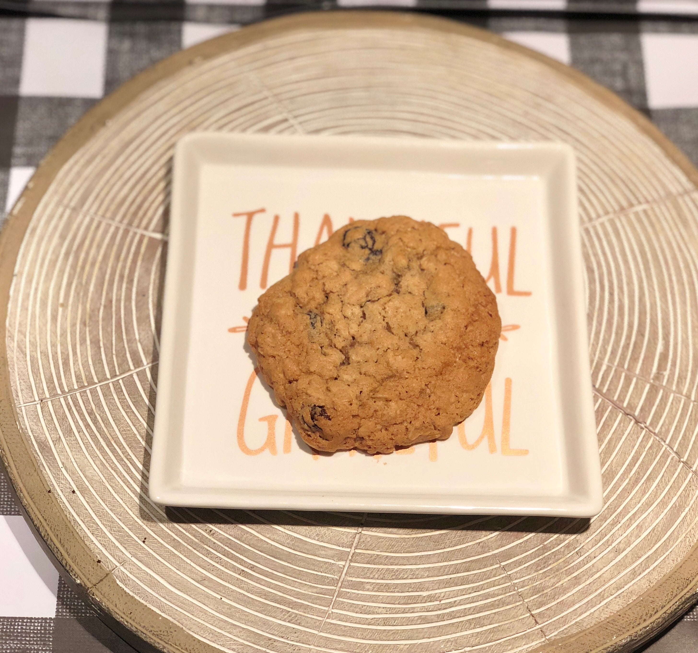 Gluten and dairy free oatmeal cookies