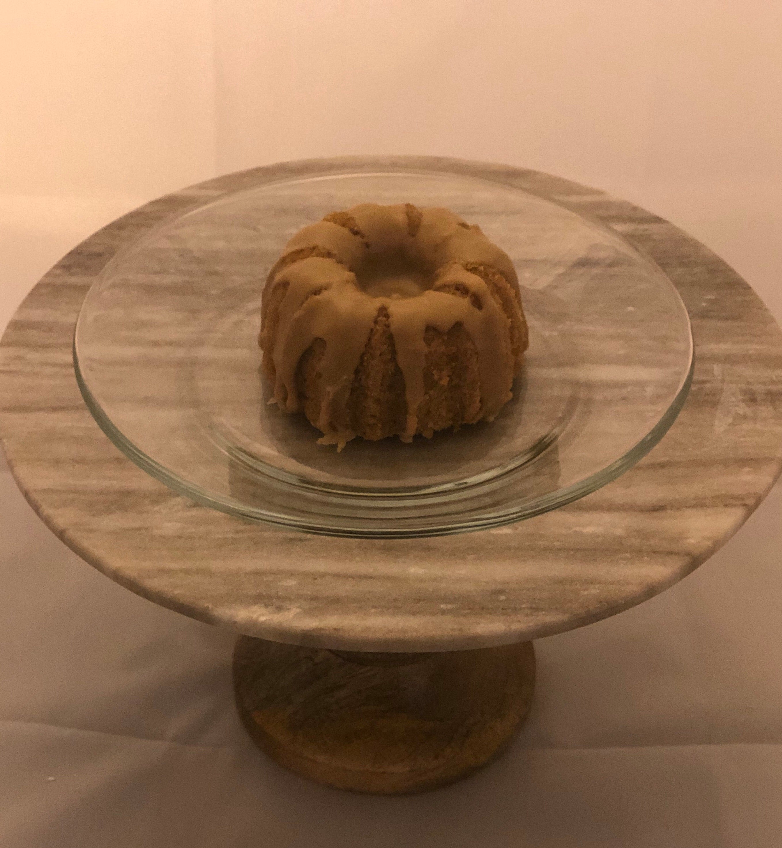 Salted Caramel Mini Bundt Cakes (Gluten and Dairy Free)