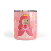 pink Custom Princess Face Tumbler