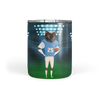 Custom Football Cat Tumbler
