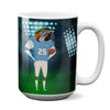 Custom 15oz Mug - Football Face Replace