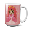 Custom 15oz Mug - Princess Face Replace (Cat)