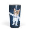 Personalized Astronaut Face Cat Tumbler