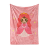 Custom Fleece Blanket - Princess Face Replace (Cat)