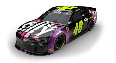 Jimmie Johnson, Ally unveil new paint scheme for No. 48 Chevrolet