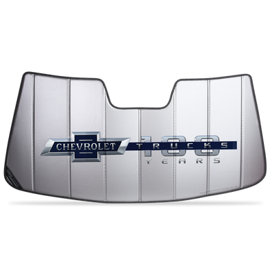 2014-2018 Chevrolet Truck 100TH Anniversary Sunshade | Non Lane Departure Mirror