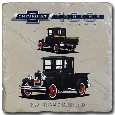 Chevy Trucks 1929 Stone Coaster