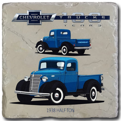 Chevy Trucks 1938 Stone Coaster