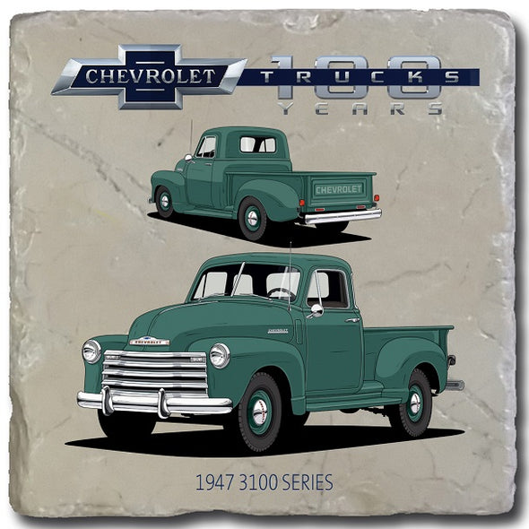 Chevy Trucks 1947 Stone Coaster