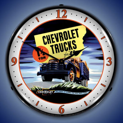 1949 Chevrolet Truck Lighted Clock