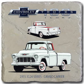Chevy Trucks 1955 Stone Coaster