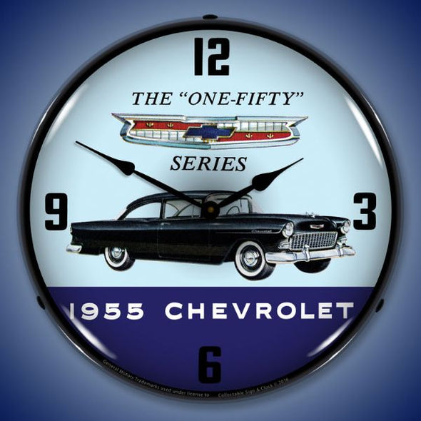1955 Chevrolet One Fifty Lighted Clock