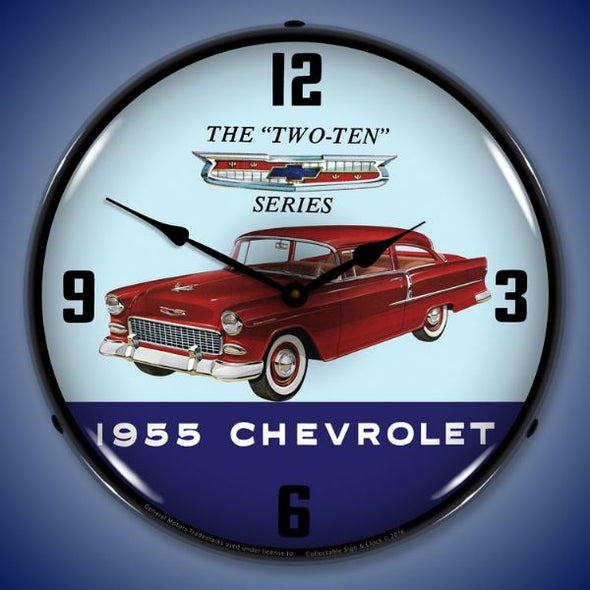 1955 Chevrolet Two Ten Lighted Clock