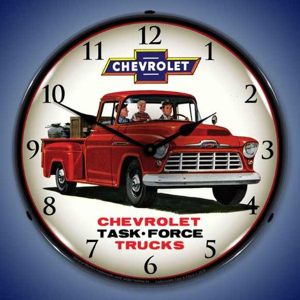 1956 Chevrolet Truck Lighted Clock