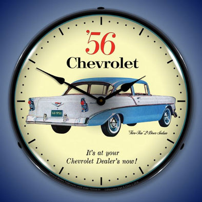 1956 Chevrolet Two Ten Lighted Clock
