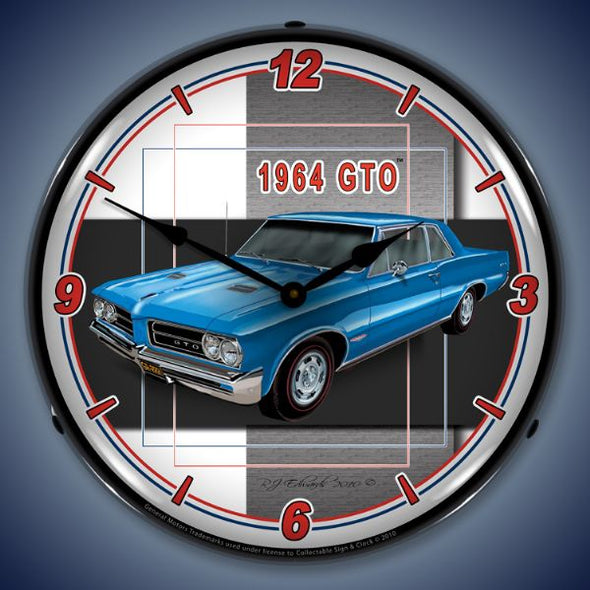 1964 Pontiac GTO Lighted Clock