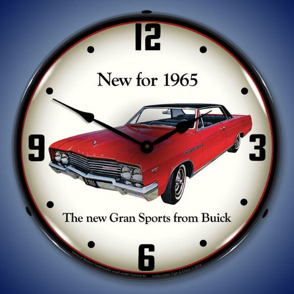 1965 Buick GS Lighted Clock