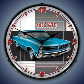 1965 Pontiac GTO Lighted Clock
