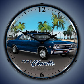 1967 Chevelle Lighted Clock