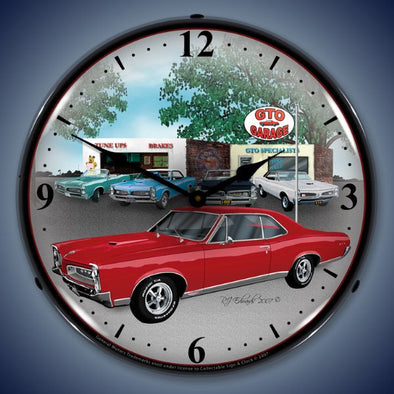 1967 Pontiac GTO Lighted Clock