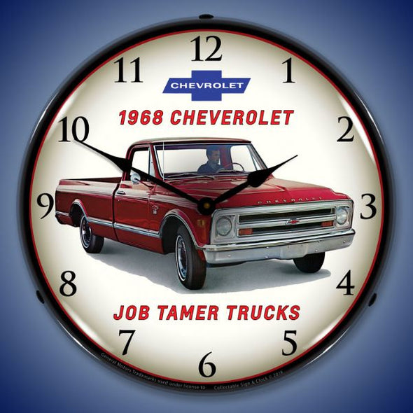 1968 Chevrolet Truck Lighted Clock