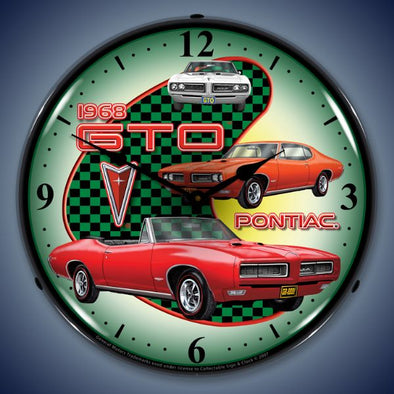 1968 Pontiac GTO Lighted Clock
