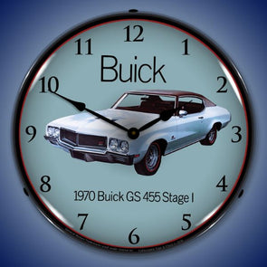 1970 Buick GS 455 Stage 1 Lighted Clock