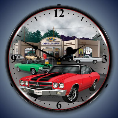 1970 Chevelle Lighting Clock