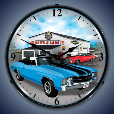 1971 Chevelle Lighted Clock