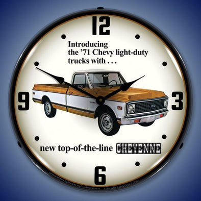 1971 Chevrolet Truck Lighted Clock