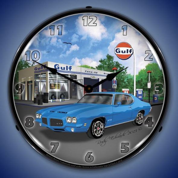 1971 Pontiac GTO Lighted Clock