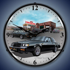 1987 Buick GN Lighted Clock