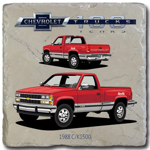 Chevy Trucks 1988 Stone Coaster