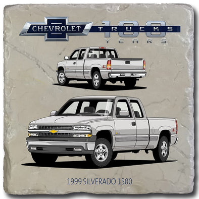 Chevy Trucks 1999 Stone Coaster