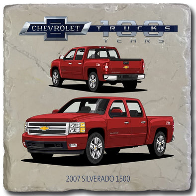 Chevy Trucks 2007 Stone Coaster
