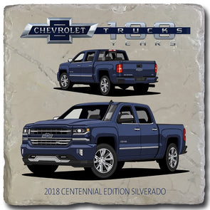 Chevy Trucks 2018 Stone Coaster