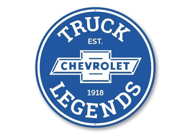 Chevrolet Truck 1918 Legends Parts - Aluminum Sign