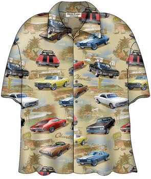 Chevy Chevelle Camp Shirt