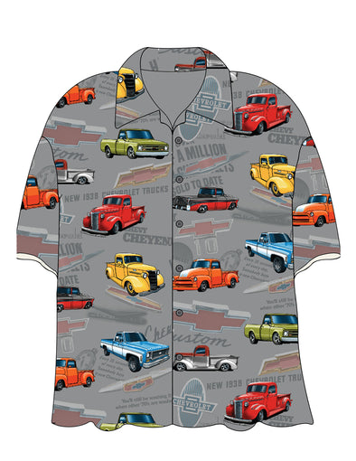 Chevy Old Truck Camp Shirt