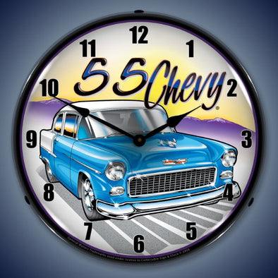 1955 Chevy Lighted Clock