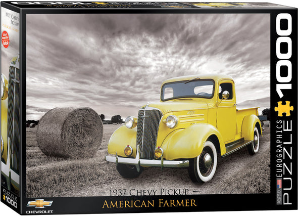 1937 Chevy Pick-up American Farmer 1000 Pc Puzzle