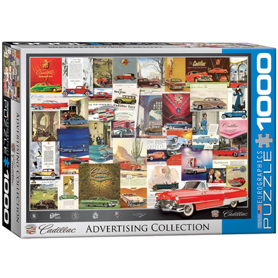 Cadillac Advertising Collection 1000 Pc Puzzle