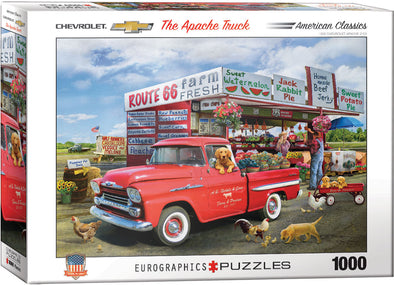 Chevrolet - The Apache Truck 1000 Pc Puzzle