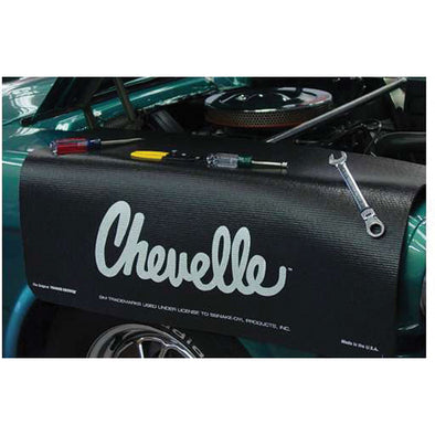 Chevelle Logo Gripper Fender Cover/Mat | 1964-1983