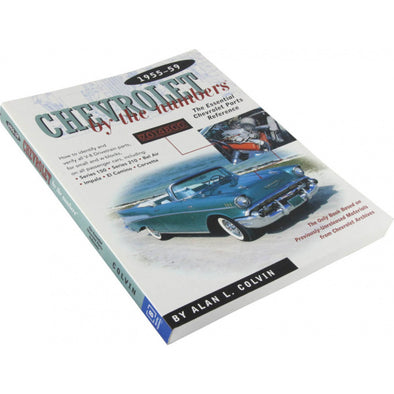 Chevrolet By The Numbers: 1955-1959 | Softcover Book