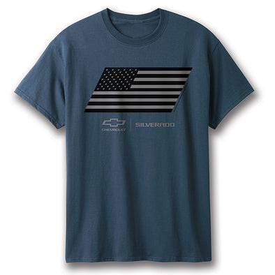 Chevy Silverado Flag T-Shirt