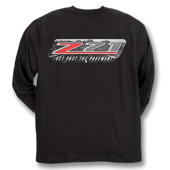 Silverado Z71 Black Long Sleeve Performance T-Shirt
