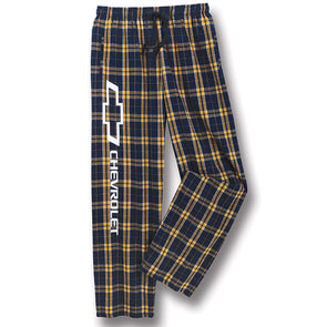 Plaid Chevrolet Flannel Pants