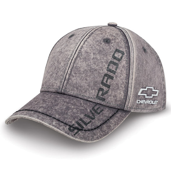 Chevy Silverado Washed Cap